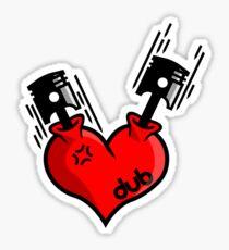 Heart Engine (7) Sticker