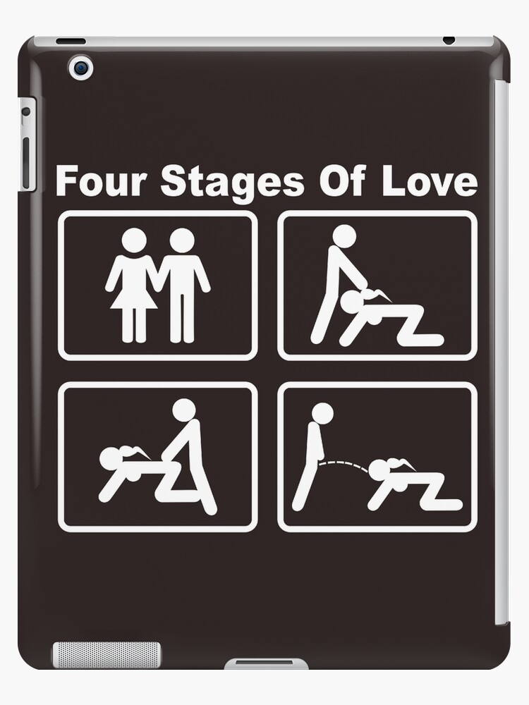 'Four Stages of Love' iPad Case/Skin by stabilitees