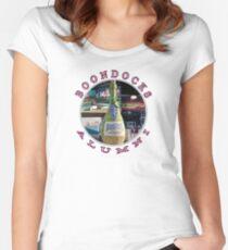 Boondocks Alumni Circle  (t-shirts, hoodies, pillows, totes, mugs)  Women's Fitted Scoop T-Shirt