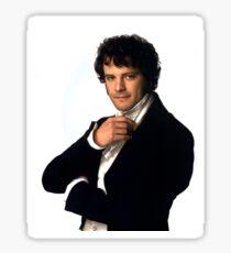 Colin Firth as Mr Darcy in Pride & Prejudice Sticker