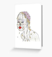Faux Beauty Greeting Card