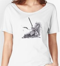kung fu and tai chi Jian sword Women's Relaxed Fit T-Shirt