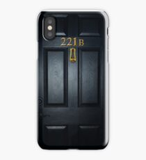 Sherlock 221b Door iPhone Case