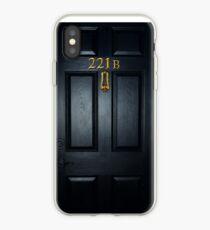 Sherlock 221b Tür iPhone-Hülle & Cover