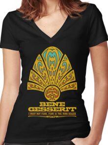Dune BENE GESSERIT Women's Fitted V-Neck T-Shirt