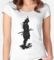Armored Samurai Women's Fitted Scoop T-Shirt