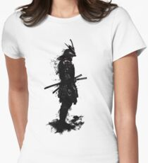 Armored Samurai Women's Fitted T-Shirt
