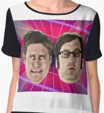 Tim and Eric Awesome Show Chiffon Top