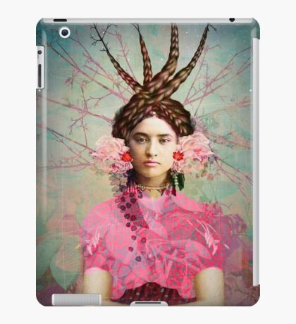 Portrait in Pastell iPad Case/Skin