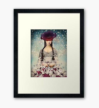 Binding Flowers Framed Print