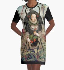 Spider Woman Graphic T-Shirt Dress