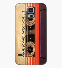 Awesome Mix Vol.1 Handytasche Hülle & Klebefolie für Samsung Galaxy