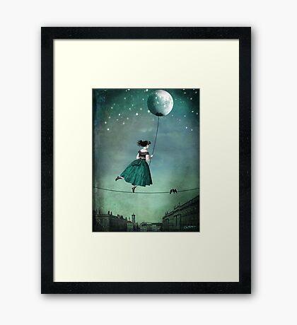 Moonwalk Framed Print