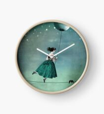 Moonwalk Clock