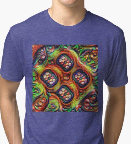 Still life with fruits #DeepDream Tri-blend T-Shirt