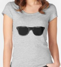 Vlogger shades Women's Fitted Scoop T-Shirt