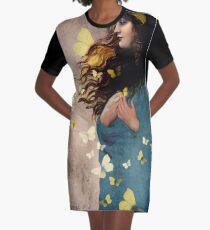 Bye bye butterfly Graphic T-Shirt Dress
