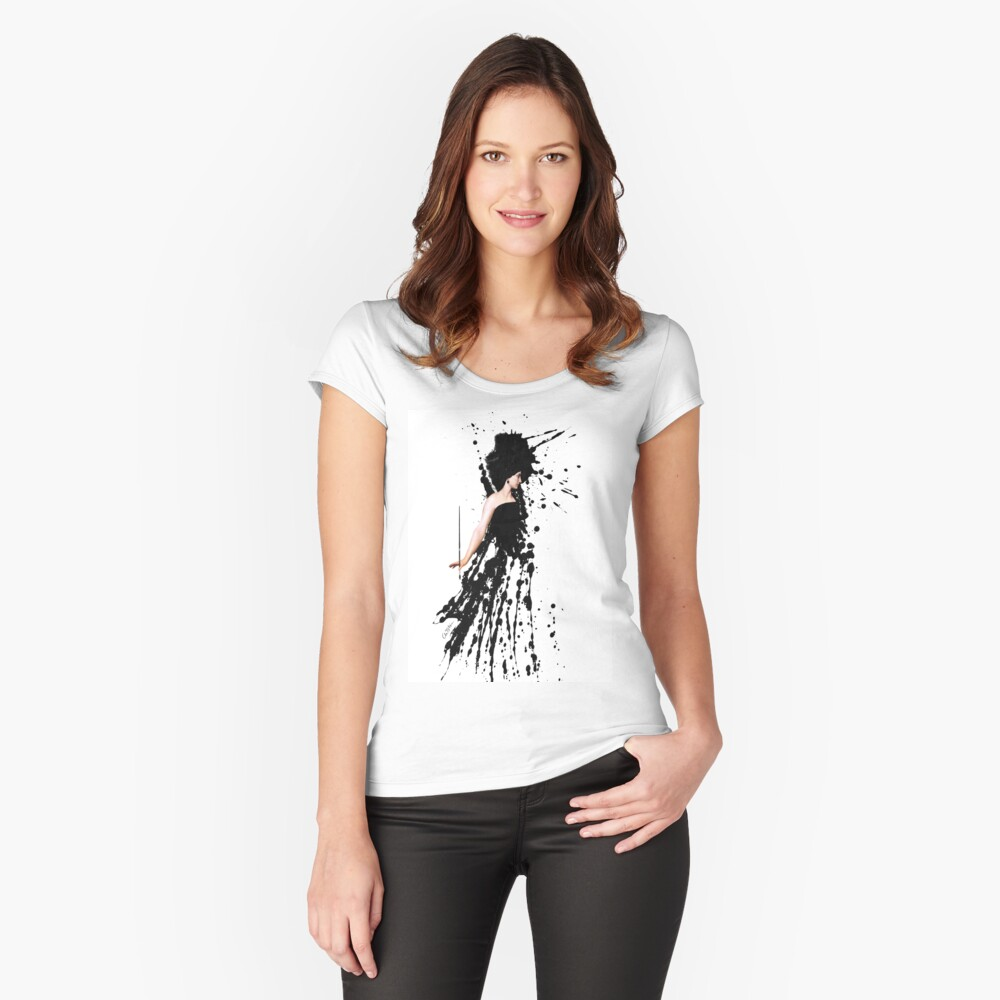 The Artist Women's Fitted Scoop T-Shirt Front