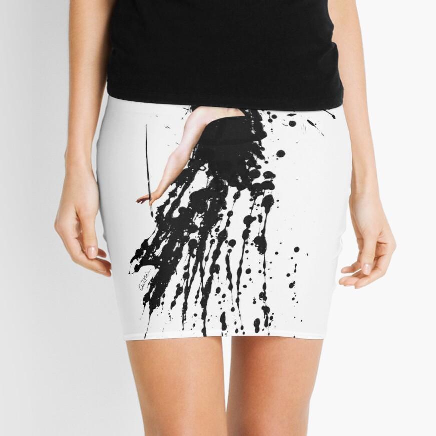 The Artist Mini Skirt Front