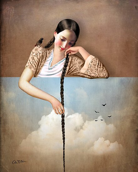 Touch The Sky (Rapunzel) by Catrin Welz-Stein