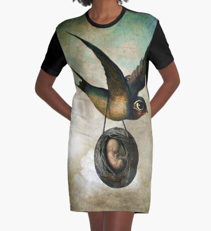 Precious flight Graphic T-Shirt Dress