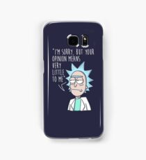 rick opinion Samsung Galaxy Case/Skin