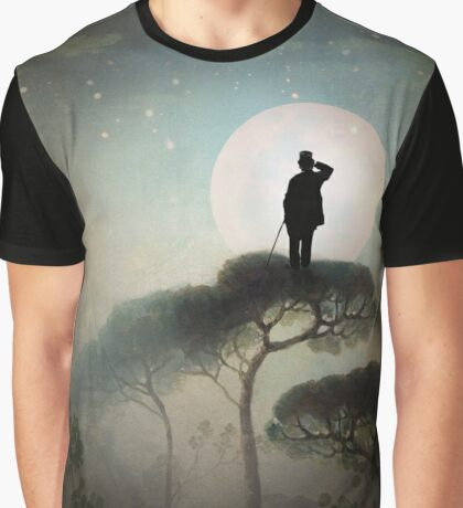 The Man in the Moon Graphic T-Shirt