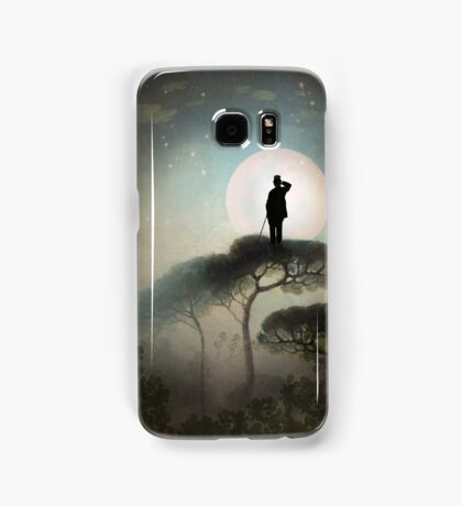 The Man in the Moon Samsung Galaxy Case/Skin