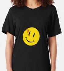 Camiseta ajustada Watchmen smiley