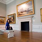 A day out in Greenwich - British Maritime Paintings by David Tovey