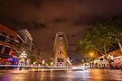Gastown, Vancouver - Night Time Landscape by George Wheelhouse