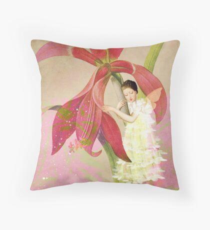 Flower Spirit Throw Pillow
