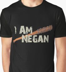I Am Negan - Cool TV Shower Fans Design Walking Graphic T-Shirt