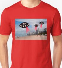 Aliens attack Recife, Brazil T-Shirt