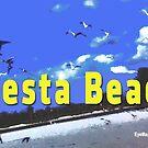 Siesta Beach by EyeMagined