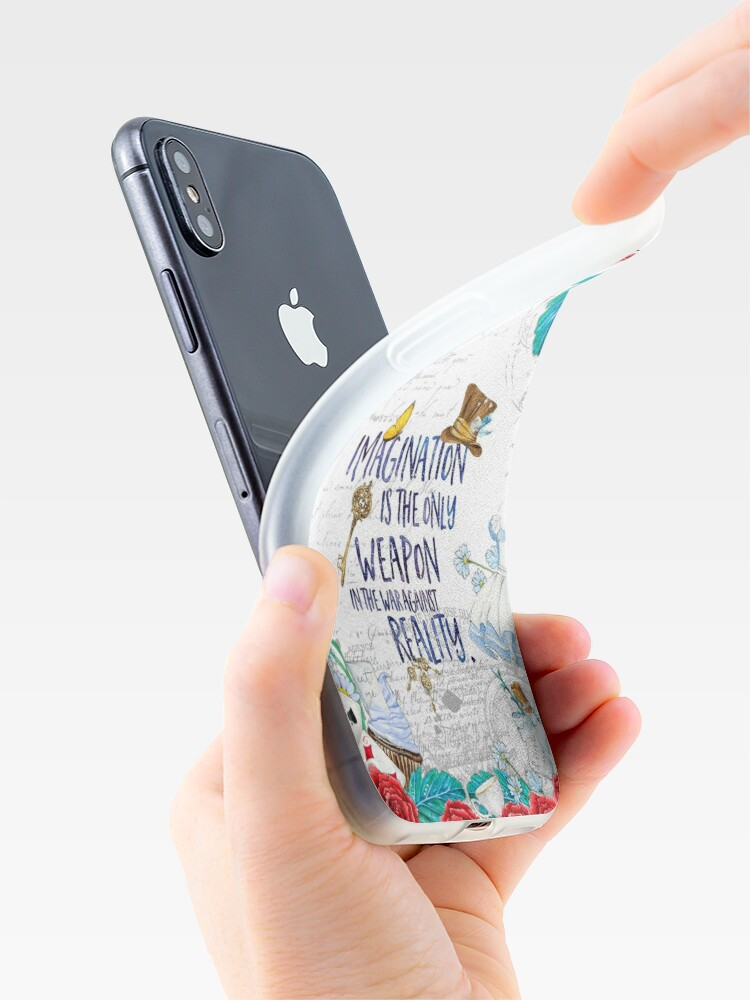 Alternate view of Alice in Wonderland - Imagination iPhone Case & Cover