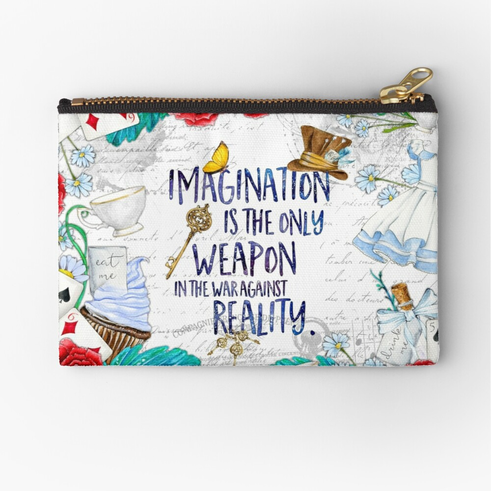 Alice in Wonderland - Imagination Zipper Pouch
