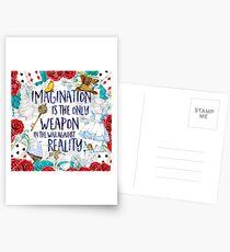 Alice in Wonderland - Imagination Postcards