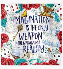 Alice im Wunderland - Fantasie Poster