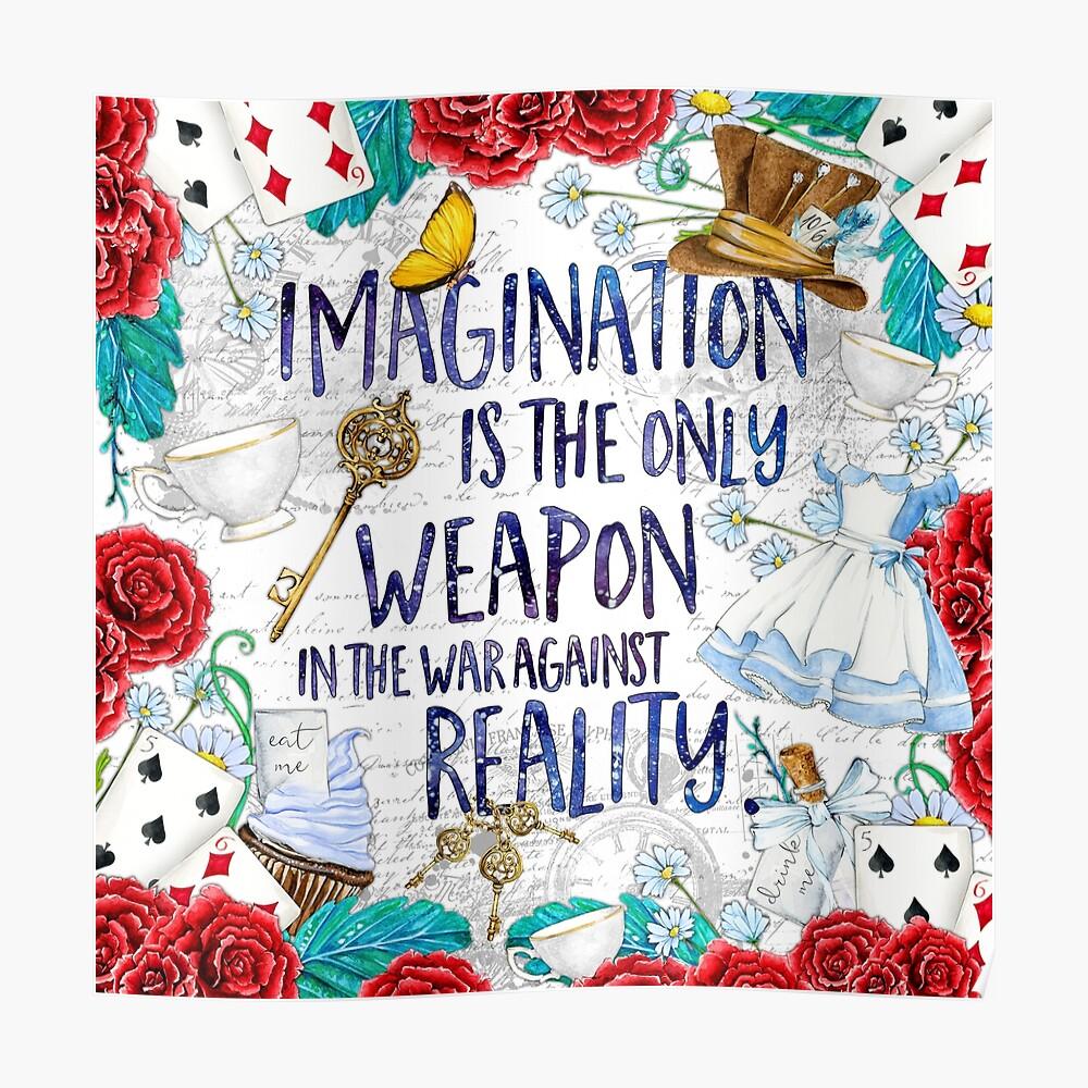 Alice in Wonderland - Imagination Poster