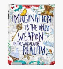 Alice in Wonderland - Imagination iPad Case/Skin
