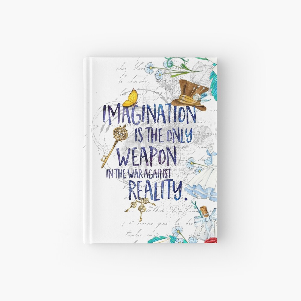 Alice in Wonderland - Imagination Hardcover Journal