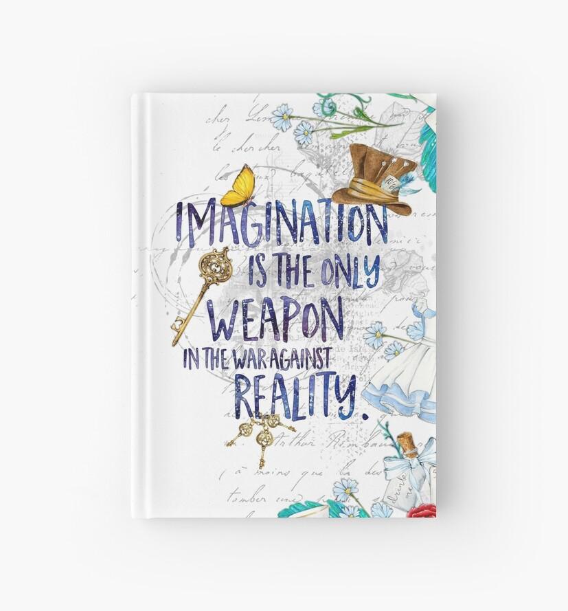 «Alicia en el país de las maravillas - Imaginación» de eviebookish