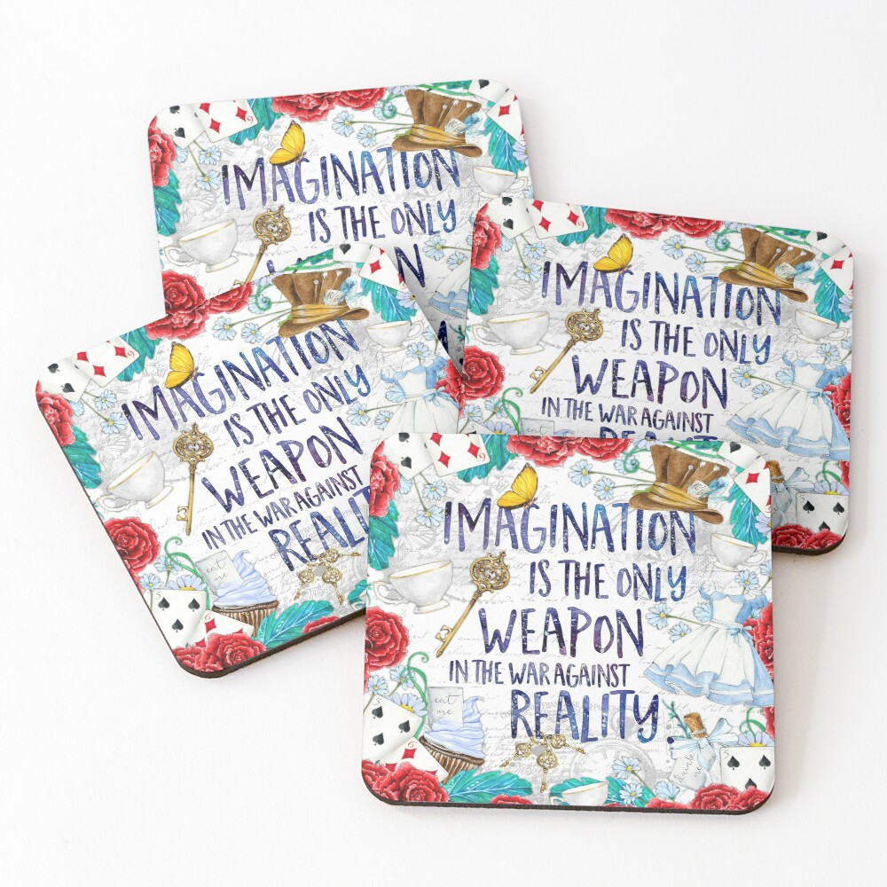 Alice in Wonderland - Imagination Coasters (Set of 4)