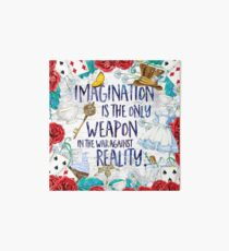 Alice in Wonderland - Imagination Art Board