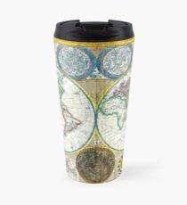 Map of the world - 1794 Travel Mug