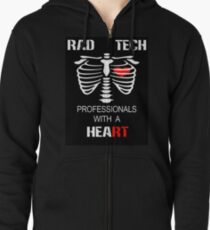 Radiologic Technologist Zipped Hoodie