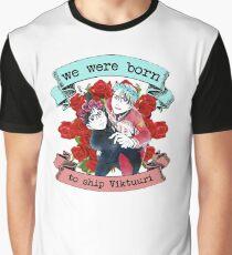 We were born to ship Viktuuri Graphic T-Shirt