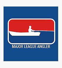 Major league Angler Photographic Print