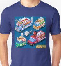 Fast Food Truck Pizza  T-Shirt